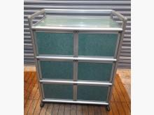 [8成新] 鋁製收納櫃L型沙發有輕微破損