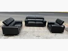 [8成新] 三合二手物流(高級牛皮沙發組)多件沙發組有輕微破損