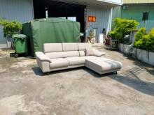 [全新] 合運二手傢俱~全新L型耐磨皮沙發L型沙發全新