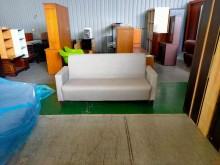 合運二手傢俱全新三人座耐磨皮沙發雙人沙發全新