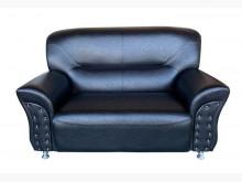 [全新] GO52CG新黑色杰克雙人皮沙發雙人沙發全新
