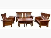 [9成新] HM10907桃花木木沙發+茶几木製沙發無破損有使用痕跡