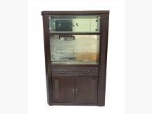 [8成新] A70414*胡桃屏風隔間櫃*其它櫥櫃有輕微破損