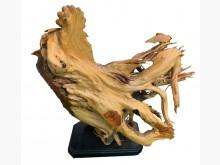 [9成新] R10901*五福人生木雕藝術品擺飾無破損有使用痕跡