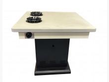 [8成新] E70408*雙孔火鍋桌*餐桌有輕微破損