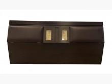 [9成新] B61517*胡桃雙人加大床頭櫃床頭櫃無破損有使用痕跡