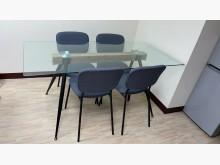 [9成新] 近全新 六人 會議桌椅會議桌無破損有使用痕跡