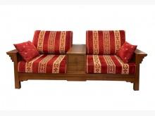 [9成新] A70514*歐式實木雙人沙發*木製沙發無破損有使用痕跡
