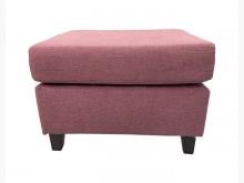 [9成新] A70515*紫色布面小沙發*沙發矮凳無破損有使用痕跡