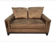 [95成新] A70516*庫存雙人布沙發*雙人沙發近乎全新