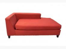 [95成新] A70518*紅色貴妃椅*單人沙發近乎全新