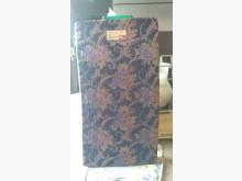 [9成新] 藍色加長3.5呎傳統床墊單人床墊無破損有使用痕跡
