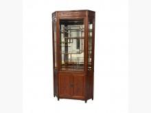 [9成新] RW62302*紅木藝品展示櫃書櫃/書架無破損有使用痕跡