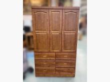 [8成新] B70910*半實木4尺衣櫃*衣櫃/衣櫥有輕微破損