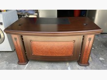 [9成新] 三合二手物流(實木5尺主管桌)辦公桌無破損有使用痕跡