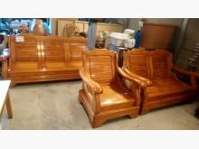 [9成新] 大台北二手傢俱-123木頭沙發木製沙發無破損有使用痕跡