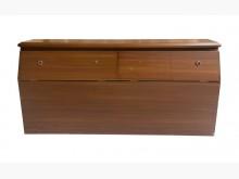 [8成新] A71902*木紋雙人5尺床頭櫃床頭櫃有輕微破損