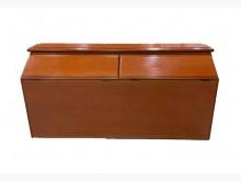 [8成新] A71905*原木色雙人5尺床頭床頭櫃有輕微破損