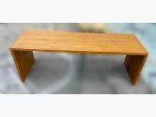 [95成新] TK71703*庫存柚木長椅凳其它桌椅近乎全新