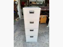 [9成新] 四層抽屜 卡片箱-鐵櫃-文件櫃辦公櫥櫃無破損有使用痕跡
