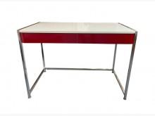 [9成新] A71005*紅白2抽書桌*書桌/椅無破損有使用痕跡