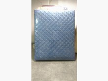 [9成新] 藍色5呎傳統床墊雙人床墊無破損有使用痕跡