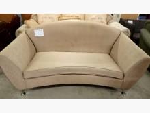 [9成新] 大台北二手傢俱-雙人布沙發雙人沙發無破損有使用痕跡