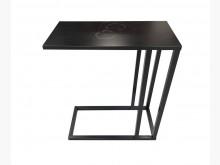 [9成新] *A72330*黑色客廳邊桌*書桌/椅無破損有使用痕跡