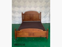 [9成新] 08015110 胡桃雙人床架雙人床架無破損有使用痕跡