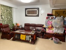 [7成新及以下] 搬家出清 實木沙發五件組木製沙發有明顯破損