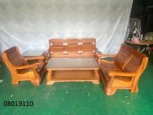[9成新] 二手/中古 客廳木製沙發木製沙發無破損有使用痕跡