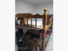 [7成新及以下] 木頭上下舖雙人床架有明顯破損