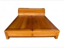 [9成新] B8221*檜木7*7雙人加大床雙人床架無破損有使用痕跡