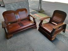 [9成新] 實木!!! 單人 2人 沙發木製沙發無破損有使用痕跡