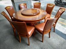 [9成新] 歐風!!! 圓餐桌椅組餐桌椅組無破損有使用痕跡
