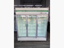 [9成新] 吉田二手傢俱❤得台三門玻璃冷藏冰冰箱無破損有使用痕跡