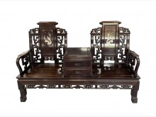 [9成新] *RB70503*花梨木太師椅椅子無破損有使用痕跡