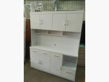 [全新] 毅昌二手家具~全新5.3尺餐櫃碗盤櫥櫃全新