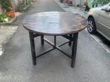 [95成新] 鄉禮二手家具 【檜木&4呎圓桌】桌子近乎全新
