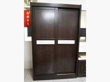 [9成新] 九成新胡桃色木心板4尺衣櫃衣櫃/衣櫥無破損有使用痕跡