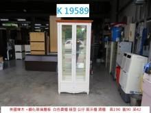 [95成新] K19589 白色書櫃 展示櫃書櫃/書架近乎全新