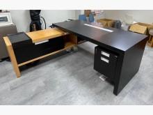 [95成新] 主管辦公桌+側櫃/書桌/L桌辦公桌近乎全新