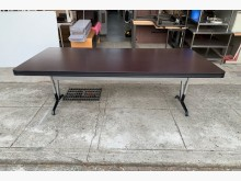 [95成新] 8尺胡桃會議桌/開會桌會議桌近乎全新