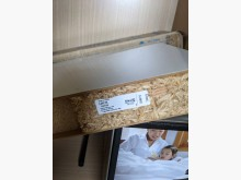 [8成新] IKEA 層板/層架, 亮面白色其它家具有輕微破損