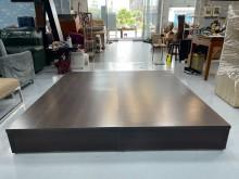 [9成新] B2203*胡桃色六尺床箱雙人床架無破損有使用痕跡