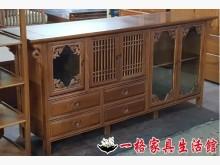 [8成新] 二手.柚木.六尺.餐櫃.電視櫃其它櫥櫃有輕微破損