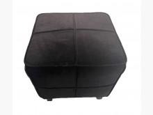 [9成新] A9149*黑色布沙發腳椅*沙發矮凳無破損有使用痕跡