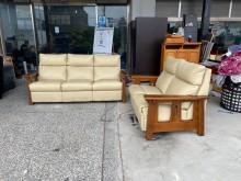 [9成新] *A83007*2+3白色沙發組多件沙發組無破損有使用痕跡