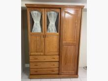 [8成新] 原木色5尺衣櫃衣櫃/衣櫥有輕微破損
