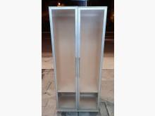 [8成新] 玻璃門單人衣櫃衣櫃/衣櫥有輕微破損